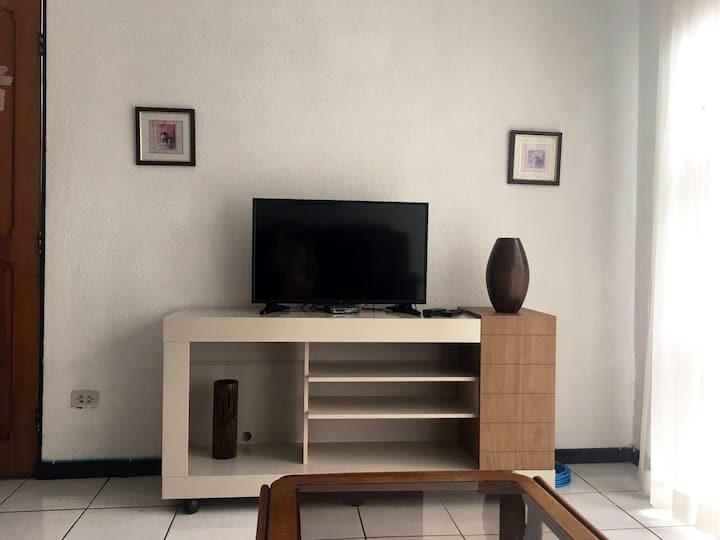 Apartamento cómodo y acogedor