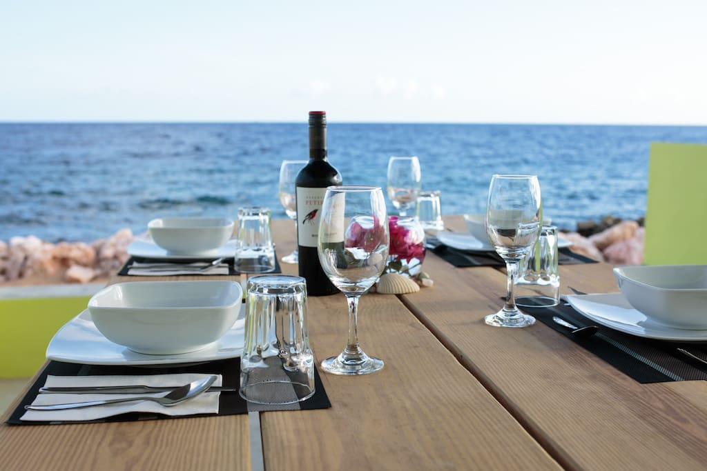 Lunch or Dinner on the patio