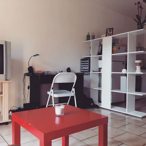 Studio confort & lumineux Foix - Foix - Apartament