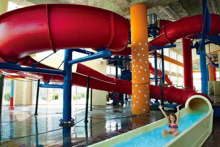 ★TOP RATED DUNES VILLAGE★♛KING Bed★Oceanfront★Indoor Water Park★ BBa