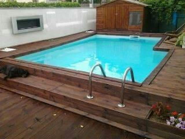 Très bel appartement piscine privé 20mn des plages - Le Boulou - Apartment