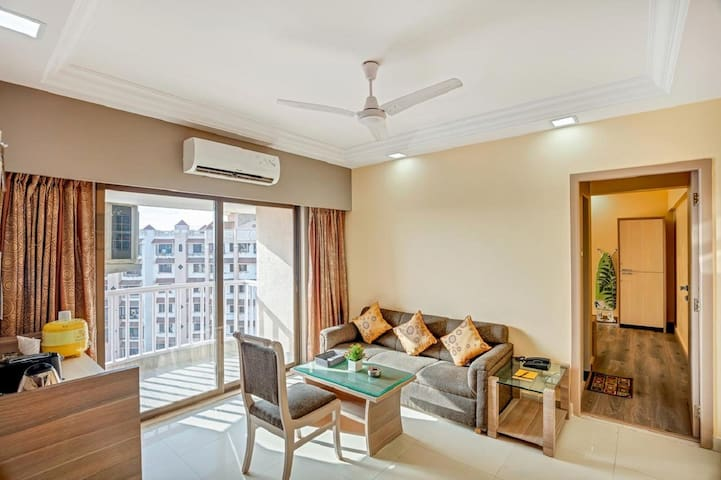 Andheri Private Apartments (2 x 1 BR) WiFi B'fast