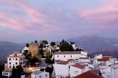 Aptment, in Comares, voted Magical Village 2018!
