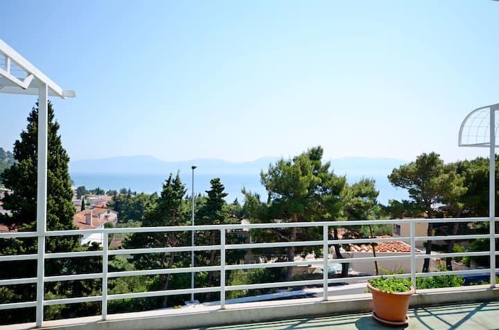 Studio Apartment, in Gradac, Balcony