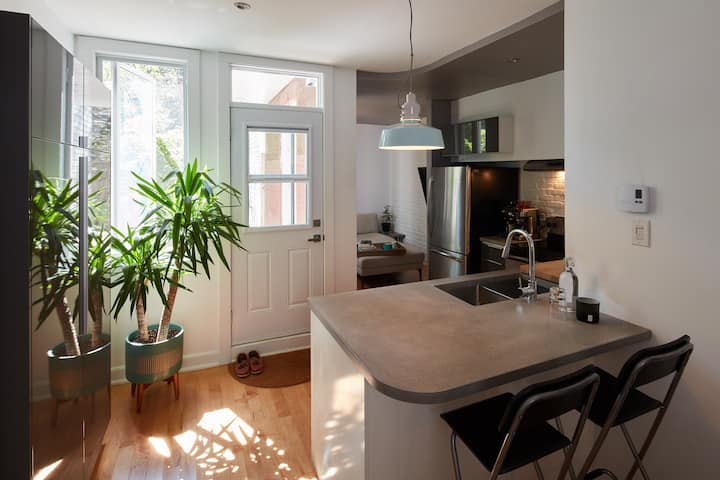 Super appartement rénové près du parc Lafontaine