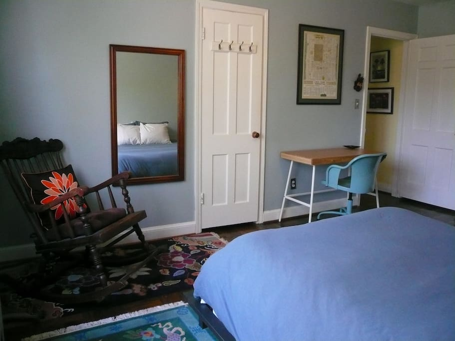 Another view of the rental bedroom.