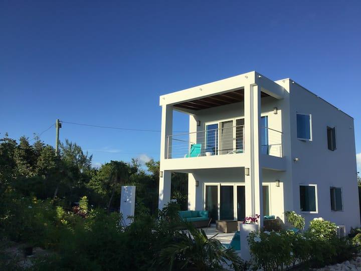 Modern beach villa | 250 yards off Grace Bay beach