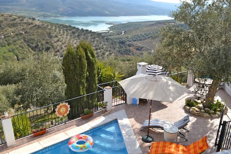Iznajar Holiday Villa with Fantastic Lake View - Iznájar