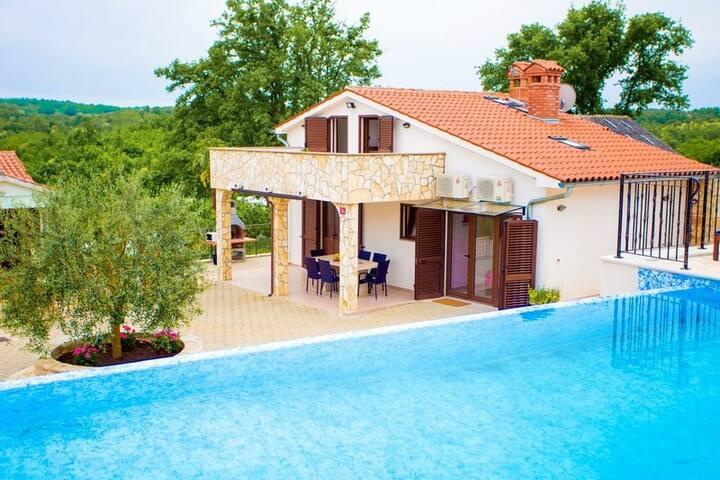 Beautiful Villa Lara in Central Istria