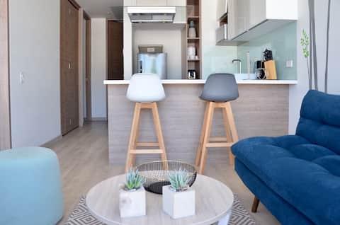 NUEVO moderno loft 2 hab 5 min 93