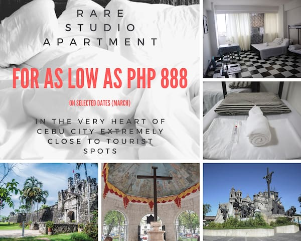 Stay in the heart of the city near tourist spots