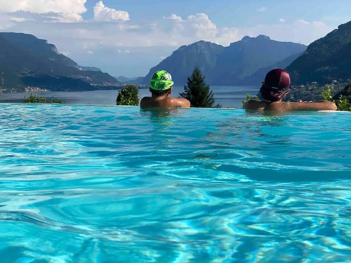 Casa degli ulivi, AC,infinity pool, private garden