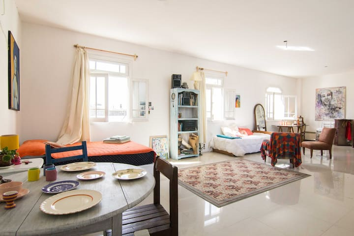 Bright and Cozy Artist Studio Loft - Montevideo - Loft