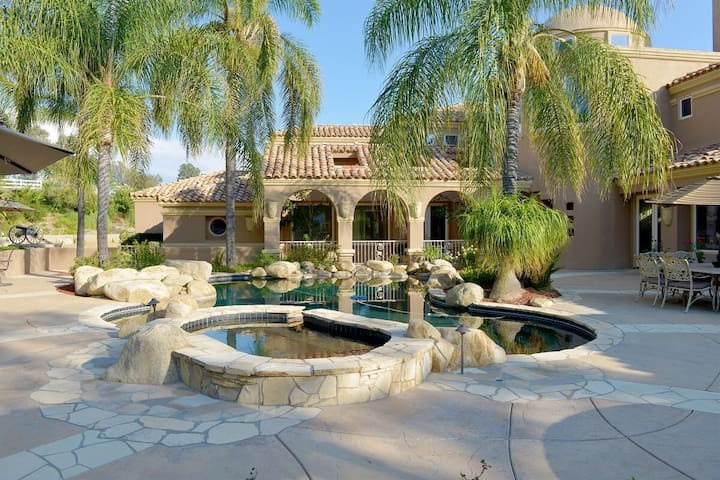 Amazing Private Estate! Pool, Tennis Court, Game Room! Perfect Location!