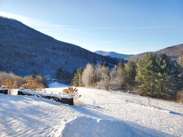 Wonderful Winter Retreat, 80 acres w/snowshoes!