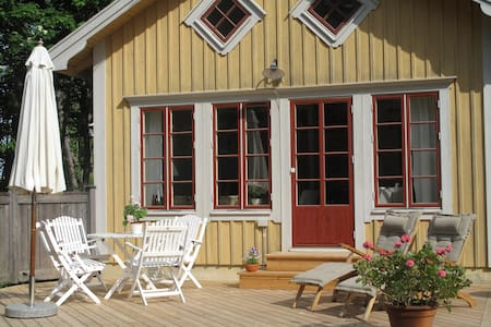 Charming cottage with seaview - Lidingö