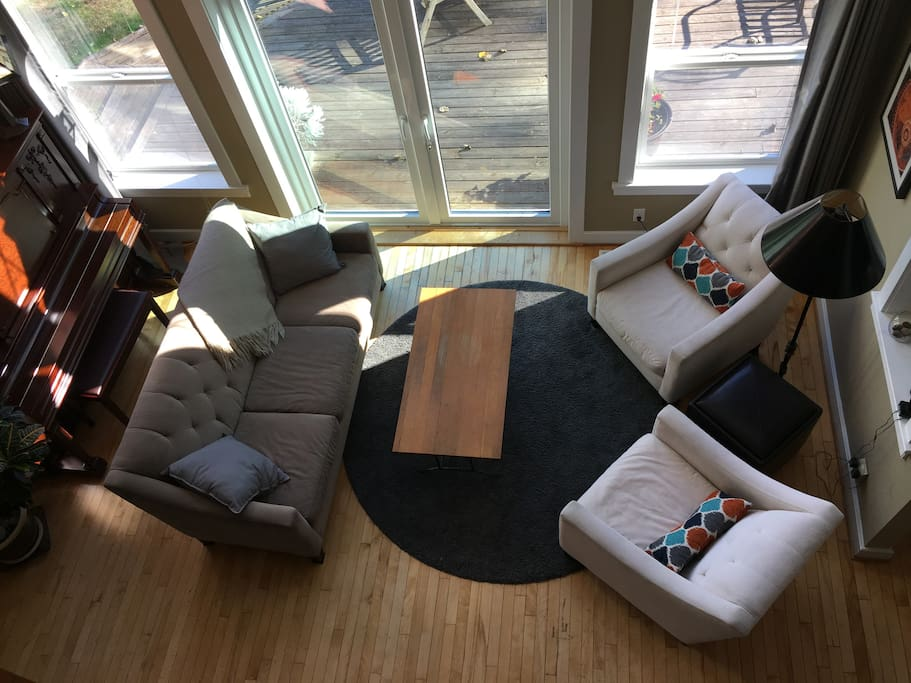 Living room (view from loft)