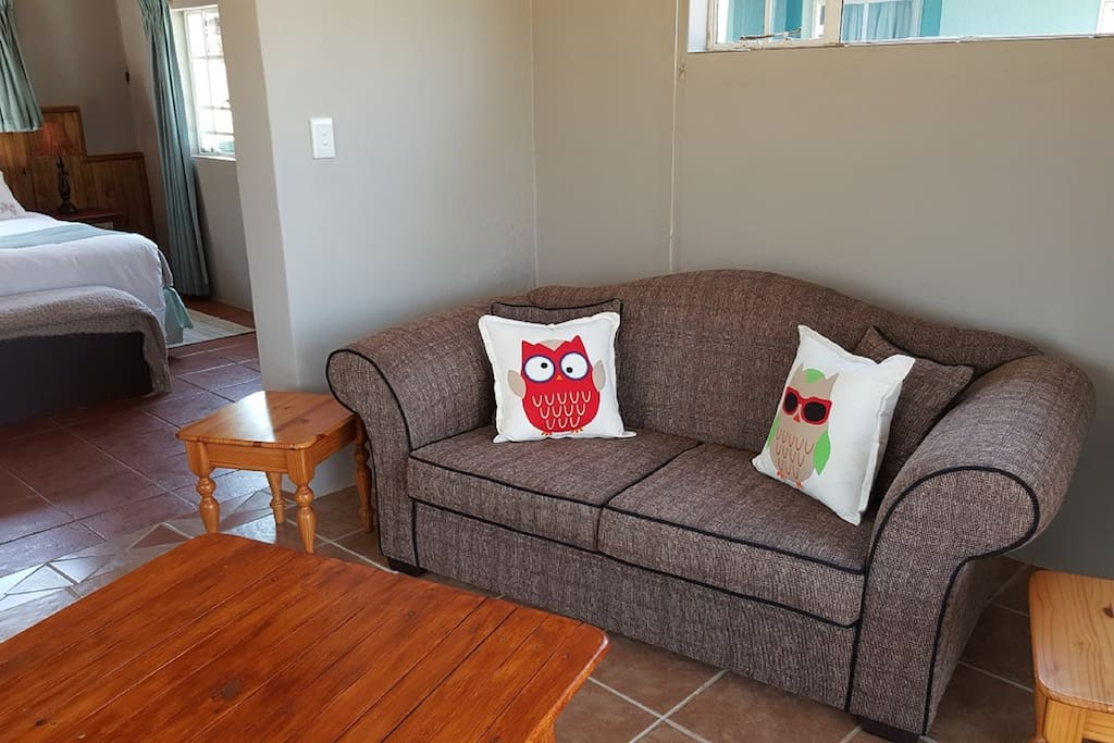 Owl - Living room with DSTV