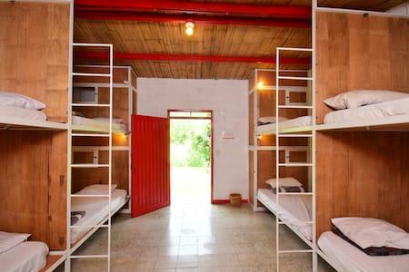 """""""Dormitorio para 8 personas"""" """"8 bed dormitory"""""""