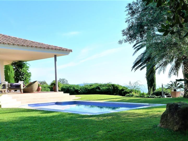 Spectacular house in Platja d´Aro with stunning sea view