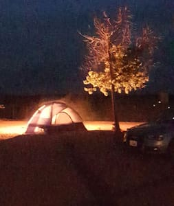Good site to park and tent - Oljato-Monument Valley - Wohnwagen/Wohnmobil