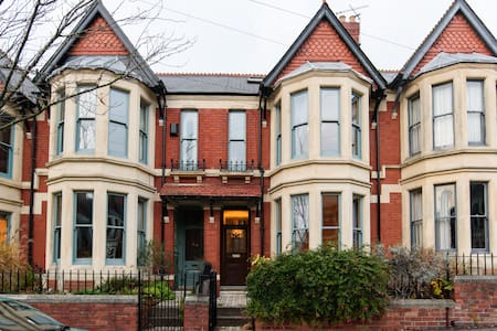 Large Victorian Family Home in Cardiff