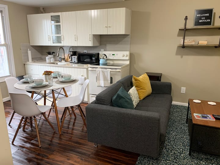 Private 2bdr  apartment in heart of South Slope