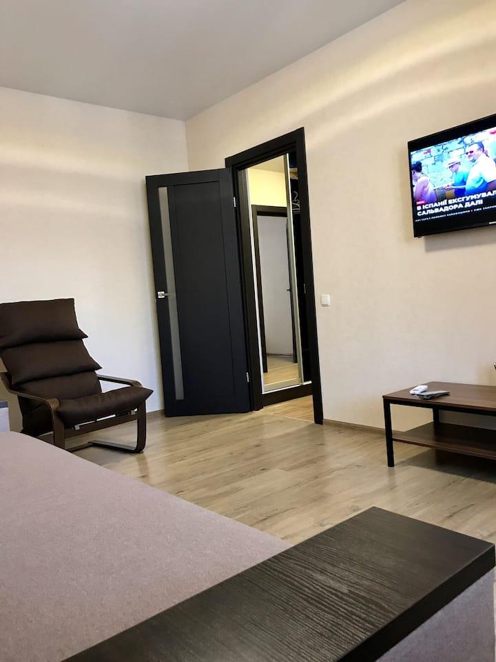 New 2room apt near park. Odessa. Seaside  district