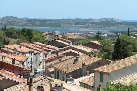 GRANDE ET BELLE MAISON DE VILLAGE - Fitou - Hus