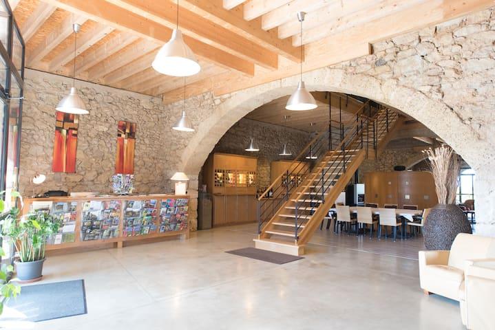 Chambre Framboise le Relais de Pigasse - Ouveillan - Wikt i opierunek