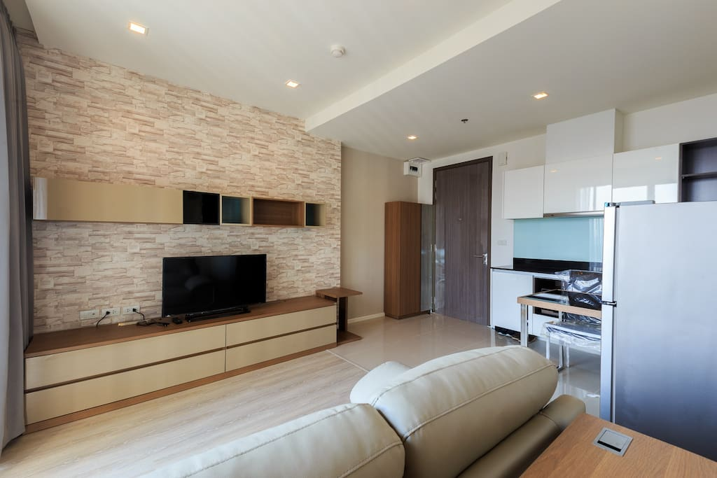 Modern style furnished , with comfortable living
