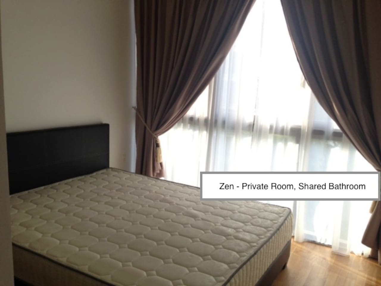 The room itself, everything is NEW !  High quality mattress !