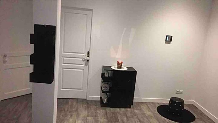 Chambre chaleureuse dans apart calme et lumineux