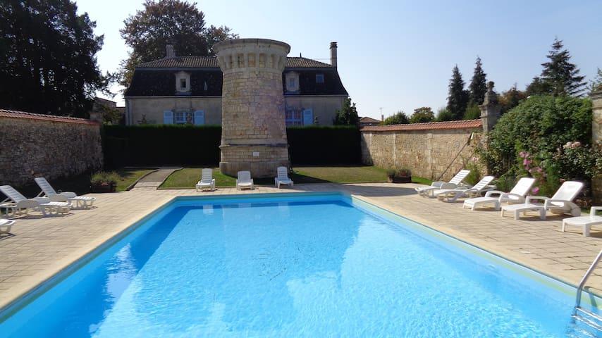 Le Chateau De Charras Apartment