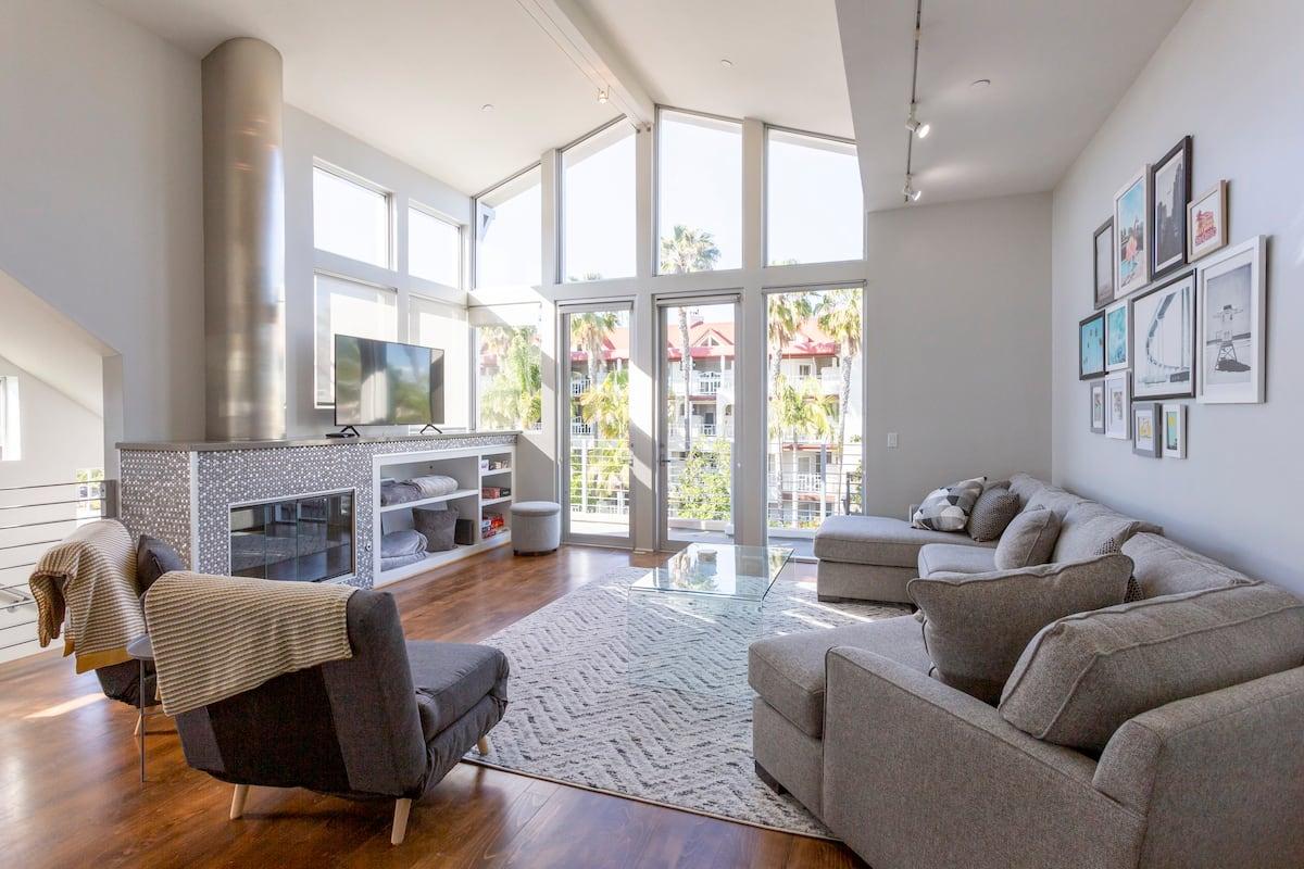 Dreamy! Luxury condo listed on Airbnb San Diego. Located on Coronado Island.
