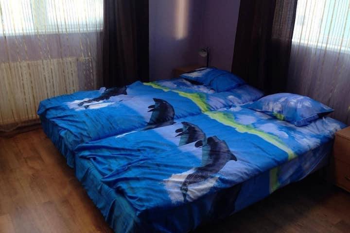 Уютная 3-х местная комната