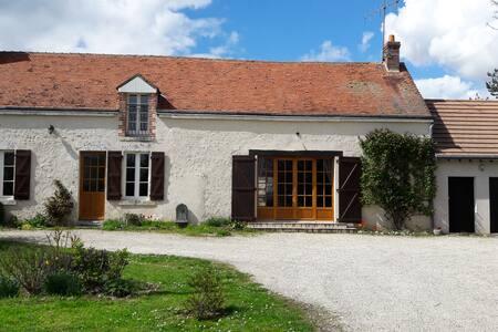 Maison de Charme type Longère Vallée de la Loire - Averdon - บ้าน