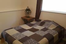 Bedroom 5 - queen bed downstairs
