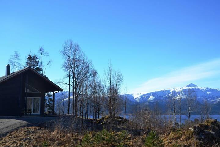 Hytte med fantastisk utsikt på Nordmøre