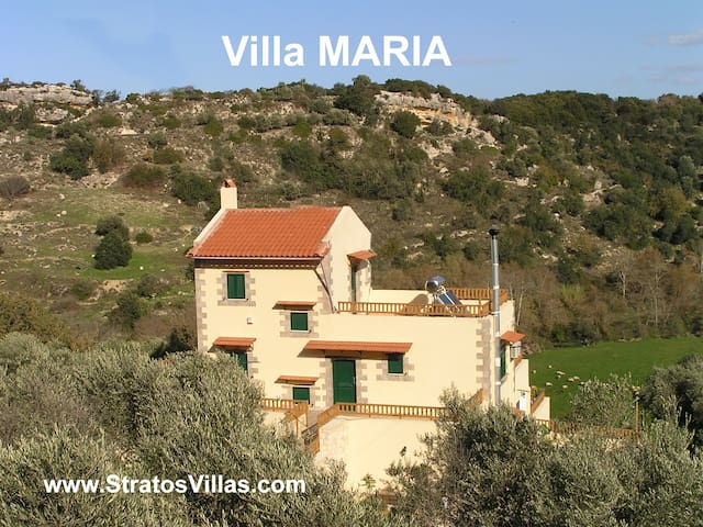Villa Maria, Private Villa (4 adult) - Rethymno - House