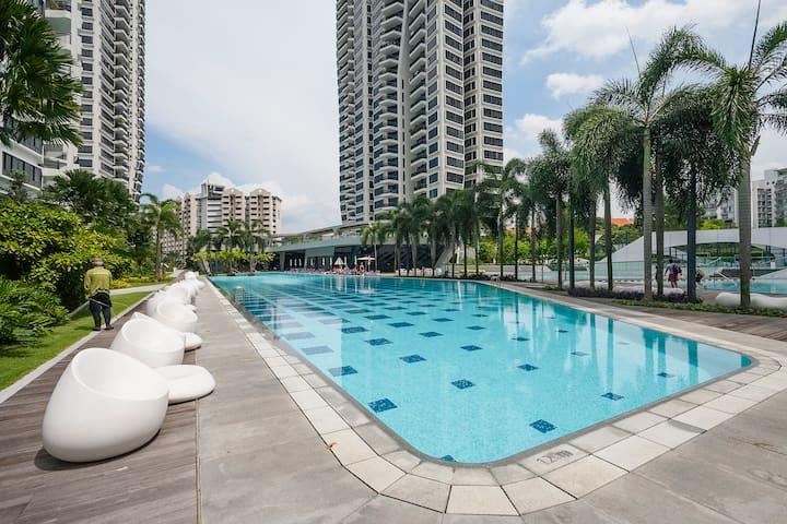 No.1 unit Mordern Convenient Quite New PoolKitchen - Singapore - Appartement