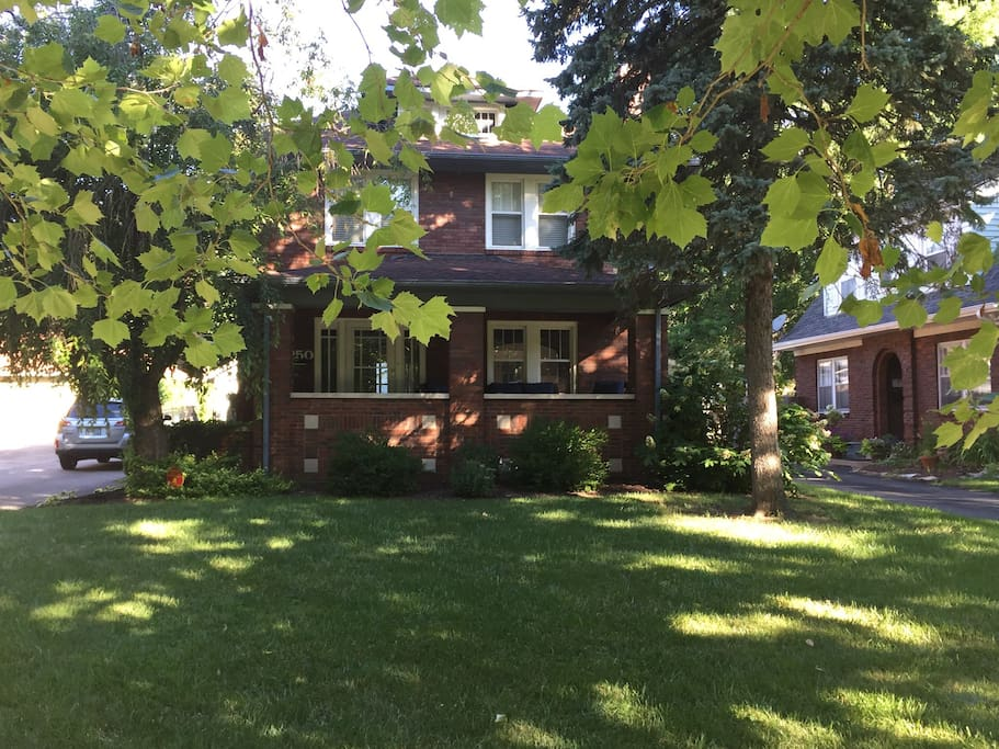 Beautiful home in historic irvington houses for rent in indianapolis indiana united states Home furniture rental indiana