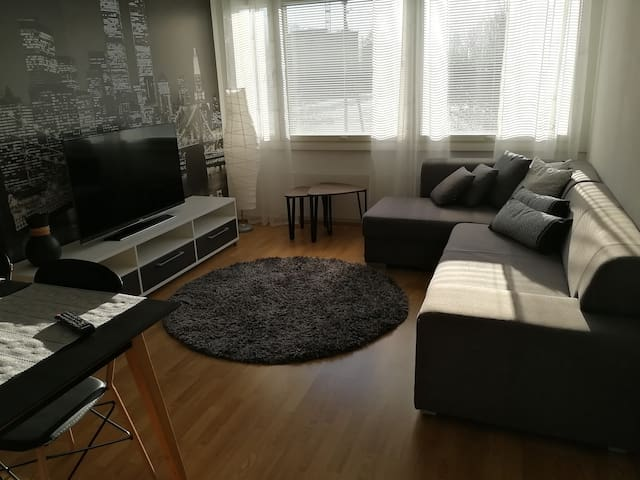 Stylish 2 room apartment with separate kitchen