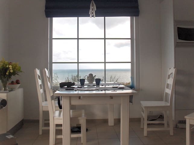 Charming summer house with sea views - Équihen-Plage - Kabin