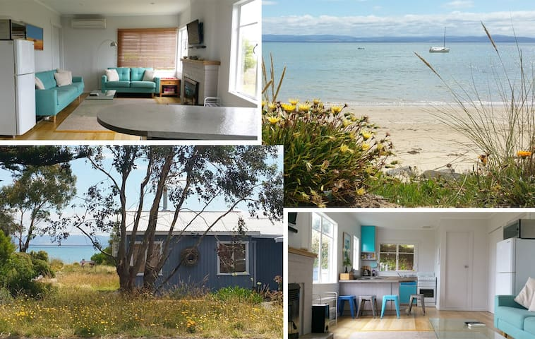Cosy Beachfront retreat 20mins from Hobart CBD - Lauderdale - Casa