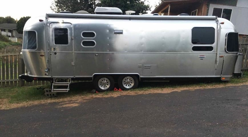 Maui Upcountry Airstream Glamping