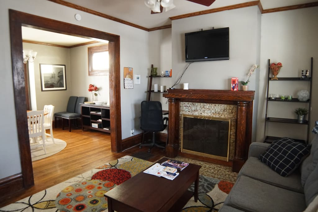 The Gathering House provides guest with big open spaces and a warm, homey feel!