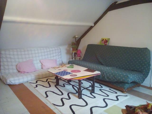 chambre privé- 4 couchages-