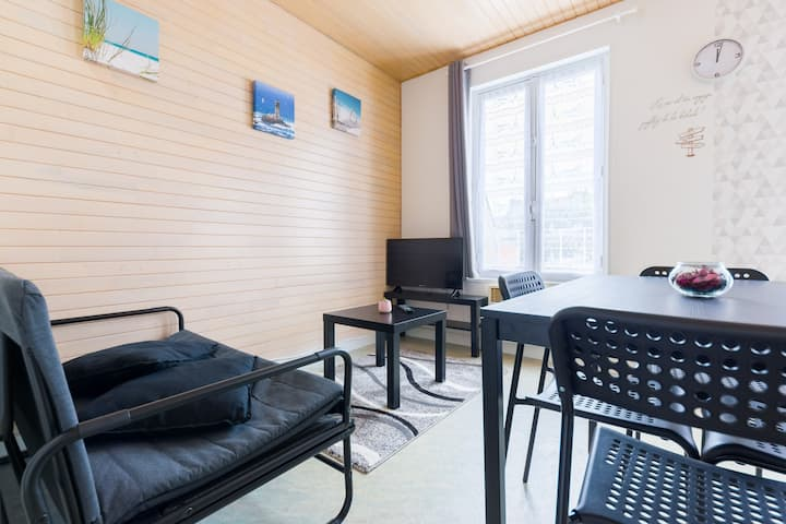"""BZH"" - Appartement T2 Duplex  - Centre"