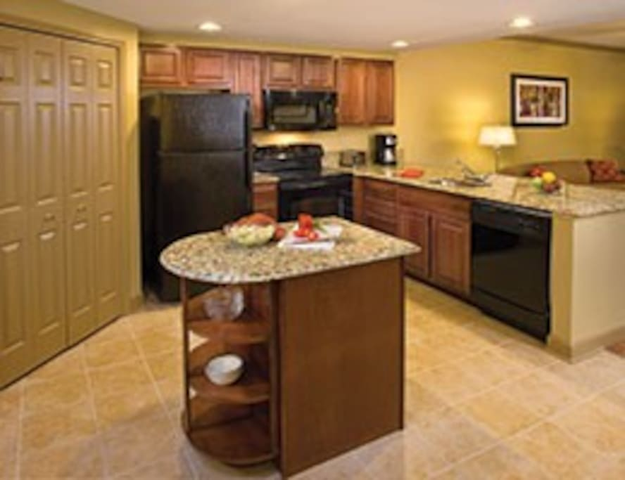 VERY SPACIOUS KITCHEN FOR EASY MEAL PREP. JUST BRING THE FOOD